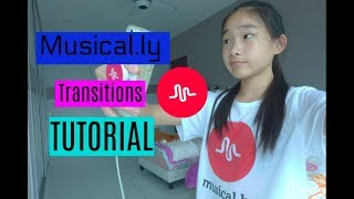 Musical.ly Transitions Tutorial || xinyii_