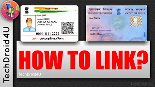 How to Link Aadhar Card with Pan Card 2017✅ | TechDroid4U