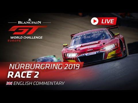 ブランパンGT ニュルブルクリン Race2ライブ配信動画