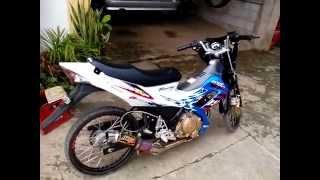 my suzuki raider150 team drag bike