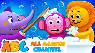 Baby Bath Time | Bath Song | Kids Songs and Nursery Rhymes | All Babies Channel