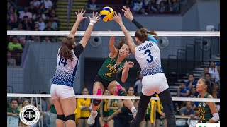 Lady Tamaraws continue Lady Bulldogs' woes, keep twice-to-beat hopes alive