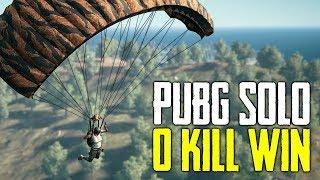 PUBG SOLO ZERO KILL WIN & Care Package Massacre (Playerunknown