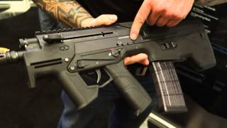 Desert Tech MDR-C (Micro Dynamic Rifle-Compact) Multi-Caliber Bullpup Assault SBR at SHOT Show 2014