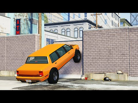 CITY OBSTACLE COURSE - BeamNG Drive