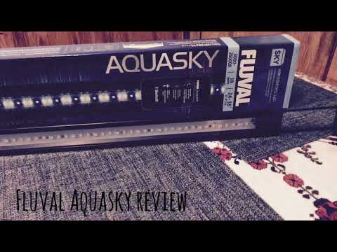 Fluval Aquasky LED Aquarium light review