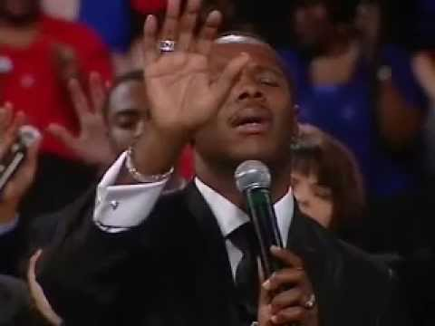 Micah Stampley Ministers at Benny Hinn Crusade – Songs of the Spirit