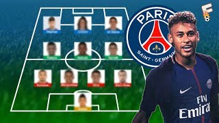 Neymar To Paris Saint Germain : PSG Potential Line Up 2017 / 2018