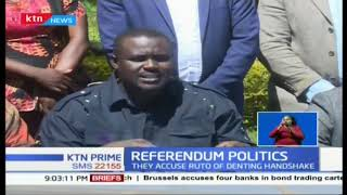 Political leaders from Western Kenya hit on DP William Ruto's effort to undermine the referendum