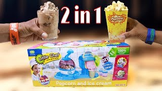 Ice Cream Maker & Popcorn Machine | Unboxing & Review
