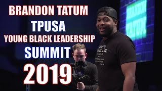 Brandon Tatum Speaks At TPUSAs 2019 Black Leadership Summit