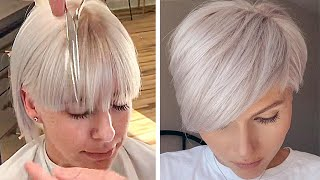 Top 12 Hair Trends 2020 | All Hottest Pixie & Short Bob Cut Compilation | Trendy Hairstyles Women