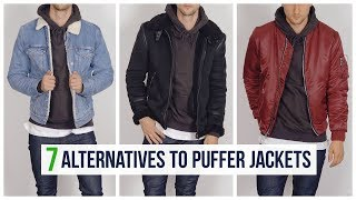 7 Best Casual Jackets and Coats for Men | Puffer Jacket Alternatives | Shearling, Trench, Etc.