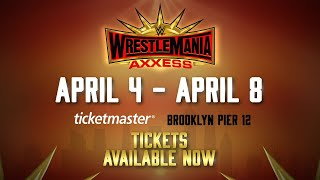 WrestleMania Axxess comes to Brooklyn Pier 12 from April 4 - April 8