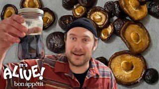 Brad Makes Fermented Mushrooms | Its Alive @ Home | Bon Appétit