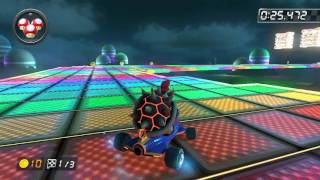SNES Rainbow Road - 1:24.391 - ★Sgt. Guy★ (Mario Kart 8 World Record)