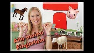 Alle meine Fingerlein - Fingerspiele für Kinder