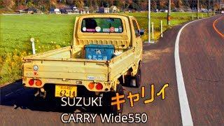 🚗🏁  スズキ キャリィ ワイド550 SUZUKI CARRY Wide550