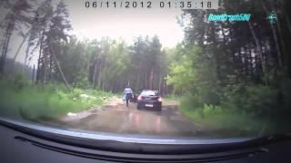 Смотреть онлайн Подборка: Люди мусорят на дороге хуже свиней