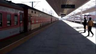 preview picture of video '中国の電車(天津、塘沽駅) Chinese Train - Tanggu Station, Tianjin'