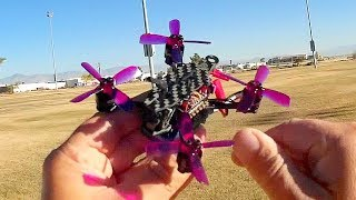 Arfun Pro 95mm Micro FPV Racer Drone Flight Test Review
