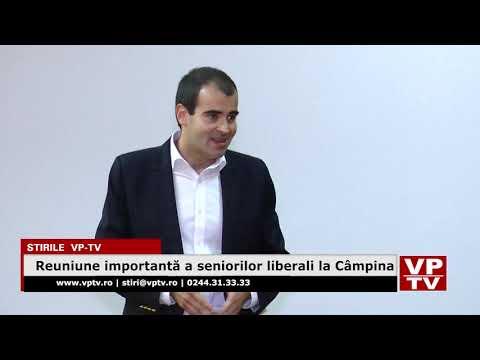 Reuniune importantă a seniorilor liberali la Câmpina