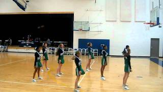 First JV game floor cheer