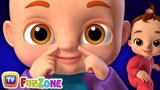 Head, Shoulders, Knees & Toes - Songs For Babies - ChuChuTV Funzone