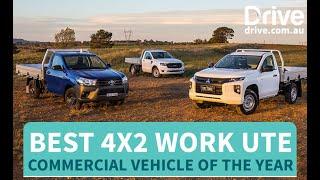2019 Best 4x2 Work Ute | Toyota HiLux v Mitsubishi Triton v Ford Ranger