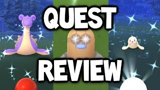 WHAT HAPPENED TO SHINY LAPRAS?! MAY QUEST REVIEW POKÉMON GO!