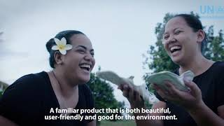 Samoan Start-up Tackles Plastic Waste In Feminine Hygiene Products