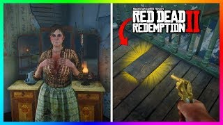 There Is Something MYSTERIOUS Under The Floor Of The Aberdeen Pig Farm In Red Dead Redemption 2!