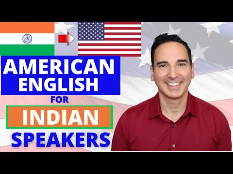 American Accent Training for Indian Speakers - Accent Reduction Classes