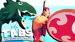 TABS - SPARTANS and RAPTORS and VIEWER BATTLES - Totally Accurate Battle Simulator Gameplay