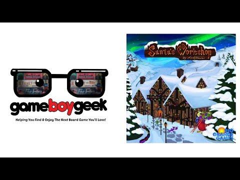 The Game Boy Geek Reviews Santa's Workshop