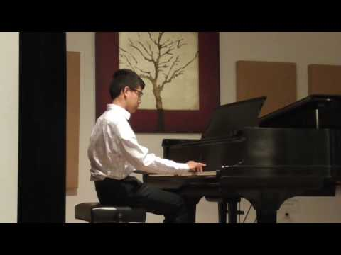 Helen Butkov student. John Sabile. Royal Conservatory.Level 6.