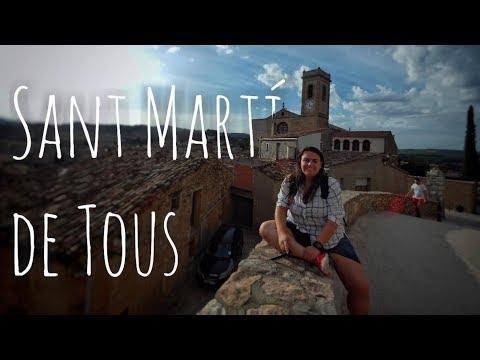 En moto a Sant Martí de Tous | Instantes de Tiempo