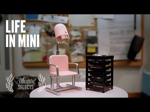 miniature sculptures of furniture by ellen evans