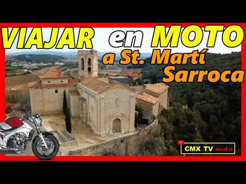 👉🏻 ESPAÑA EN MOTO 🛵 Sant Martí Sarroca 🚁