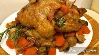 Курица в Духовке с Ароматным Соусом и Овощами!