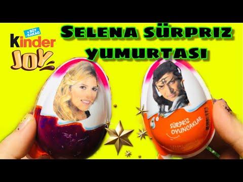Kendi Yaptığım SELENA KiNDER JOY Sürpriz Yumurtası Açıyorum !!