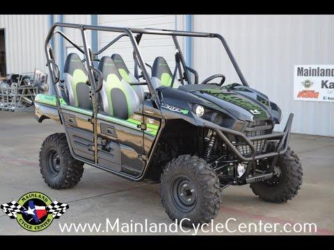 2017 Kawasaki Teryx4 in La Marque, Texas