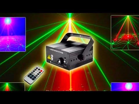DJ лазерный проектор ESHINY N85L18 DJ laser projector