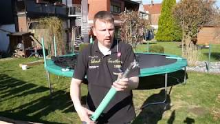 Aufbau Trampolin Ultrasport 430