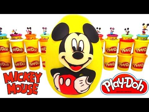 Miki Fare (Mickey Mouse) Sürpriz Yumurta Oyun Hamuru - Miki, MLP, Cicibiciler, Hello Kitty