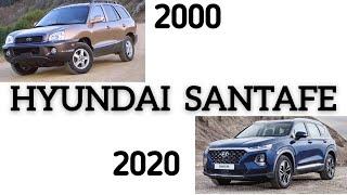 EVOLUTION OF THE HYUNDAI SANTA FE 2001-2020 INTERIOR & EXTERIOR