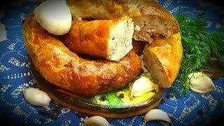Домашняя колбаса - Деревенская .Лучшая закуска на любой праздничный стол.