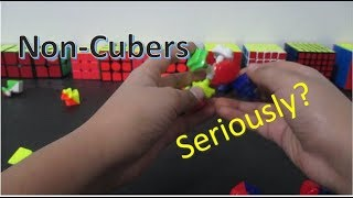 20 Things Non-Cubers Say or Do
