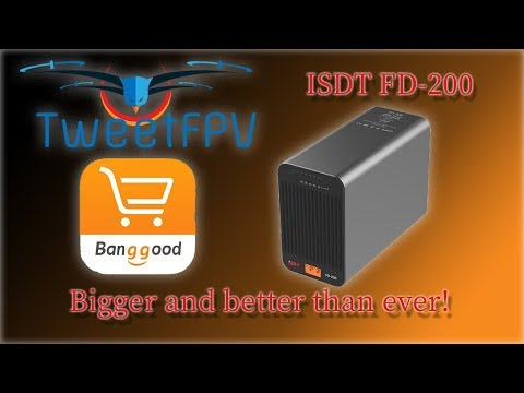 ISDT FD 200 discharger Review and disassembly #banggood #bangood_13th_anniversary