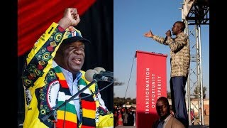 Zimbabwe rivals both say on course for poll win - VIDEO